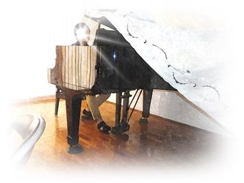 よく鳴るピアノでした。